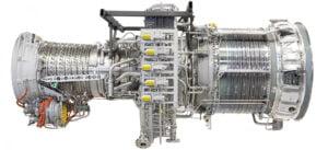 GE LM2500 gas turbine