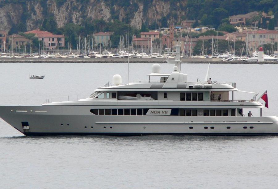 Superyacht Gitana Feadship 1997