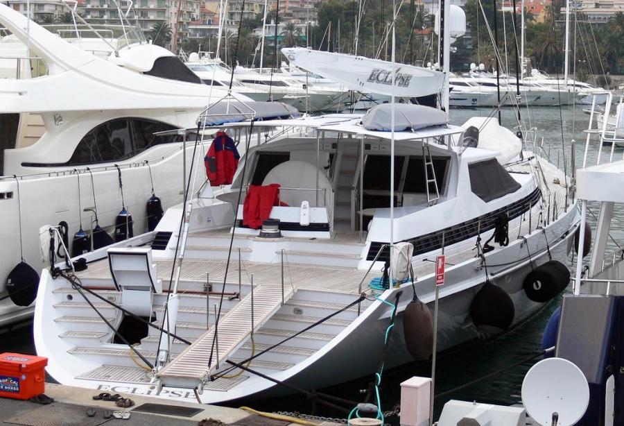 Eclipse 32.6m Alloy Yachts