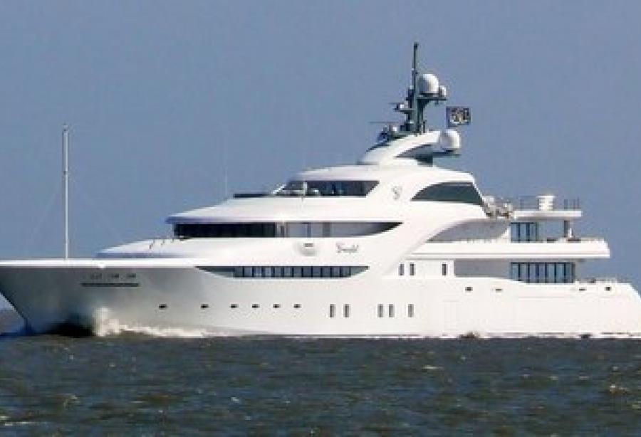 Superyacht Graceful by Blohm + Voss