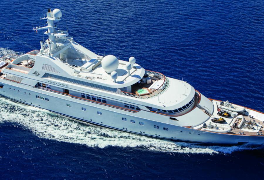 Superyacht Grand Ocean by Blohm + Voss