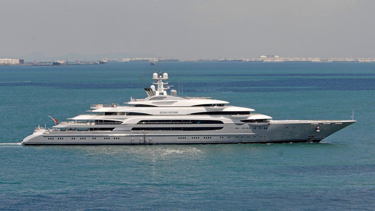 Superyacht Ocean Victory
