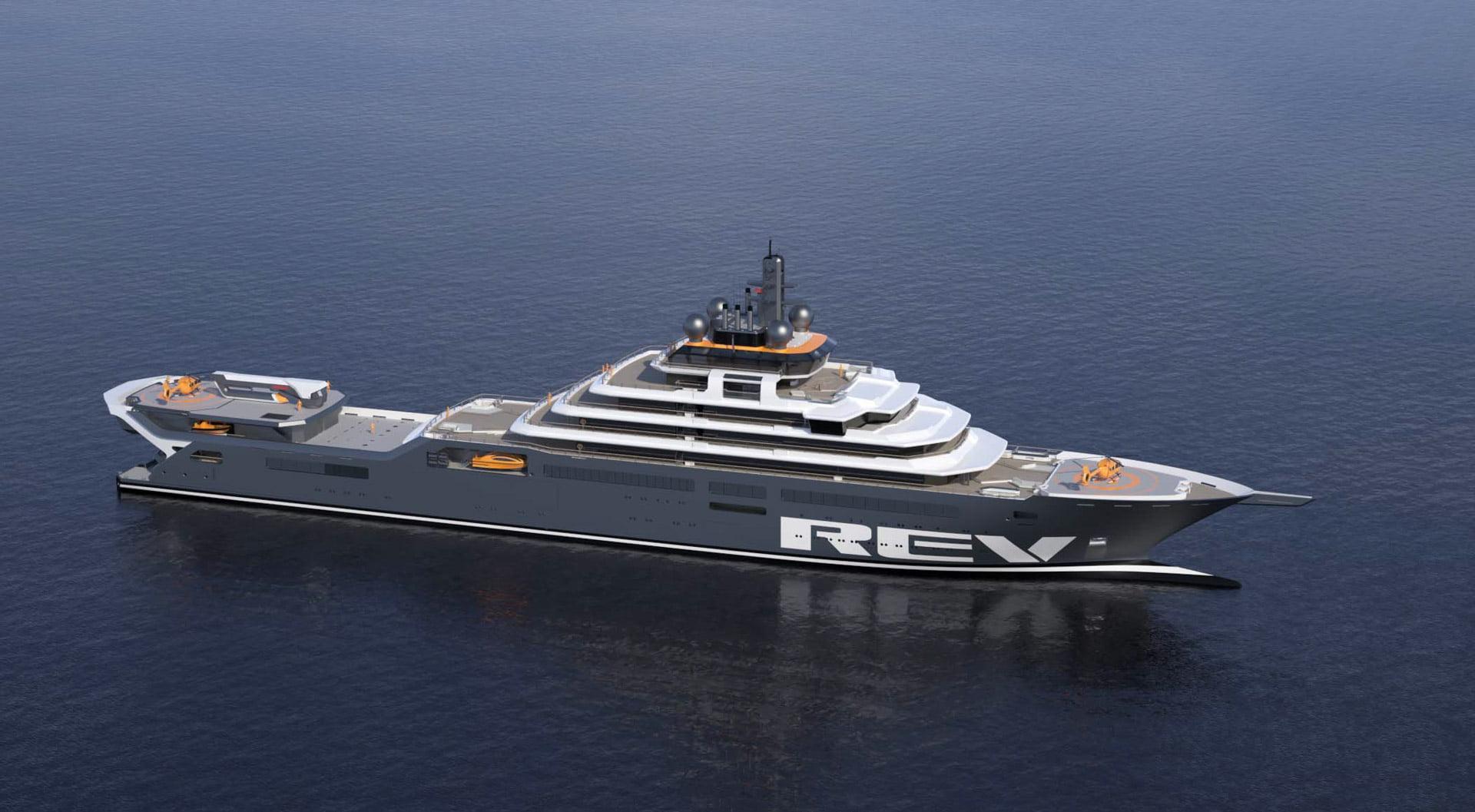 Rev Ocean Superyacht by Vard