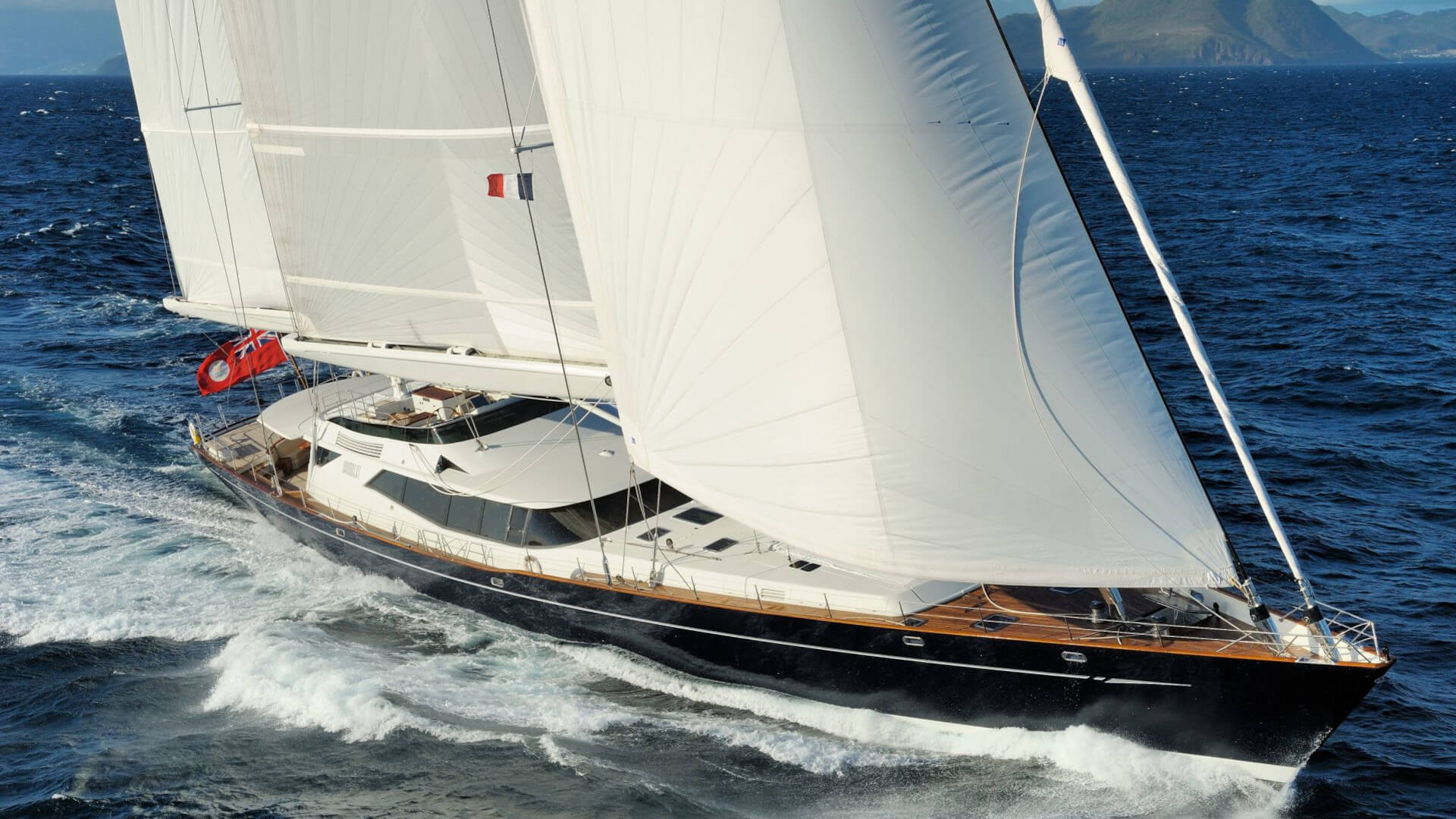 Superyacht Drumbeat by Alloy Yachts