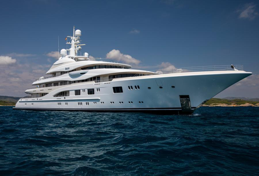 Superyacht Valerie 85.1 m by Lürssen