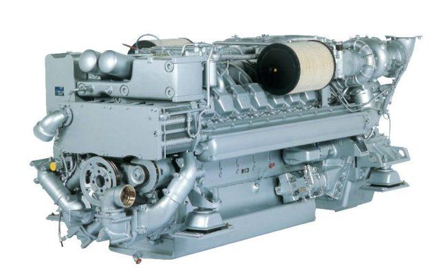 MTU 16V 2000 M90 Marine Engine