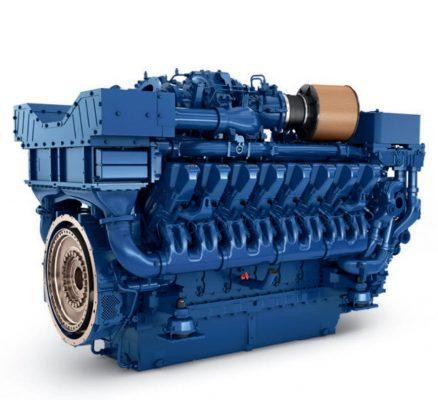 MTU marine engine 16V 4000 M73