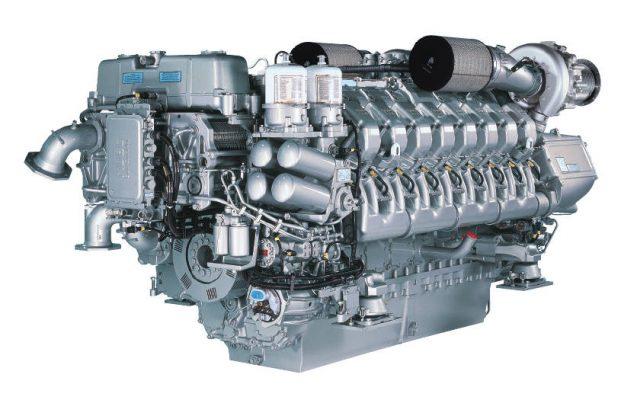 MTU 16V 4000 M90 Marine Engine