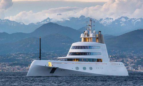 Superyacht Motor Yacht A