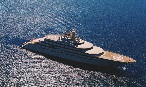 Superyacht Dilbar by Lürssen 2016